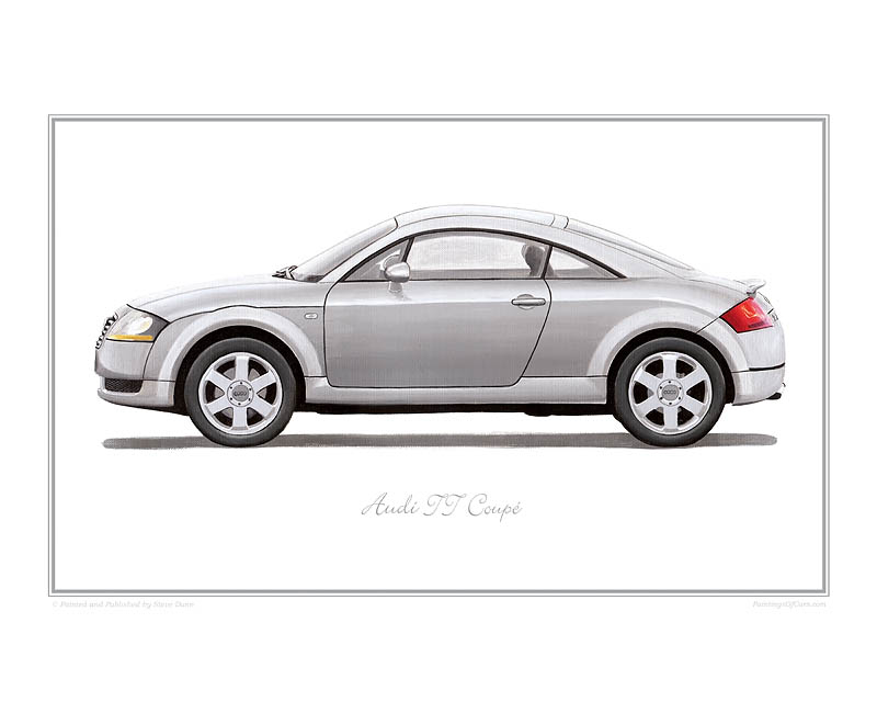 Audi TT Coupe Car print