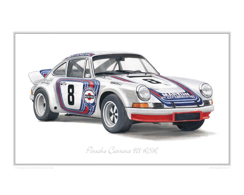 Porsche Carrera 911 Rsr Print