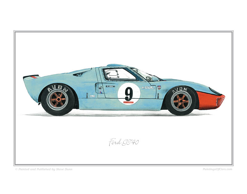 Ford Gt40. This is the fabulous Ford GT40